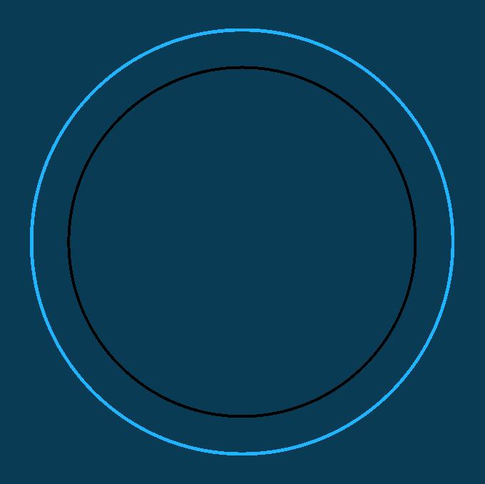 How to Draw Beginner Mandala Step 02