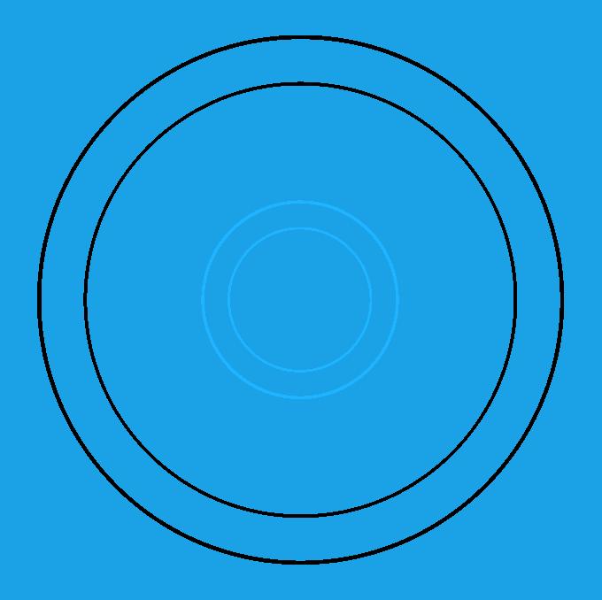 How to Draw Beginner Mandala Step 03