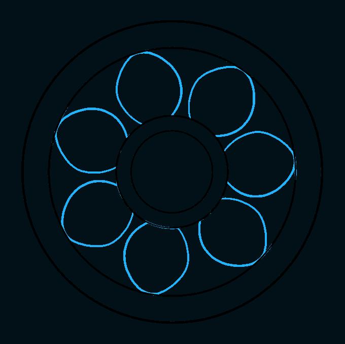 How to Draw Beginner Mandala Step 04