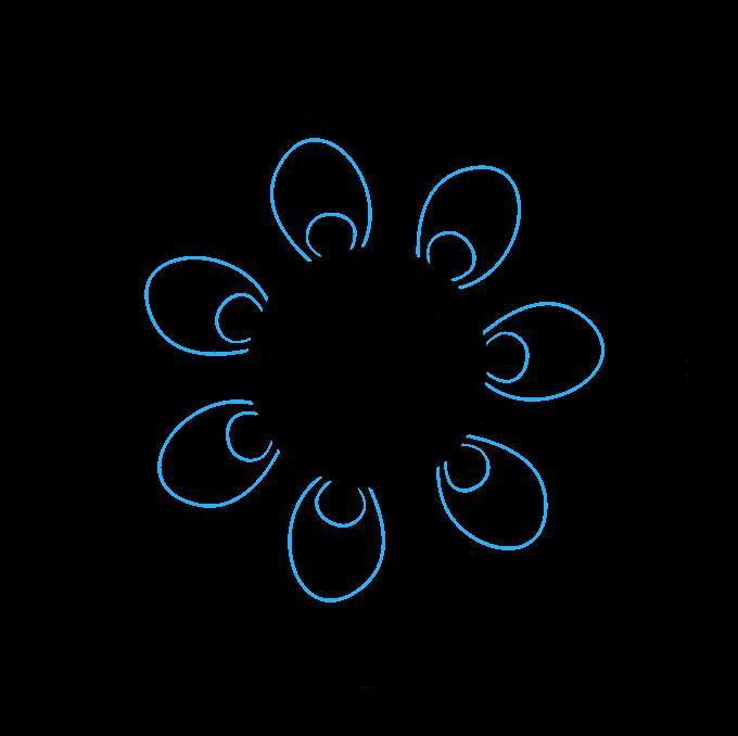 How to Draw Beginner Mandala Step 05
