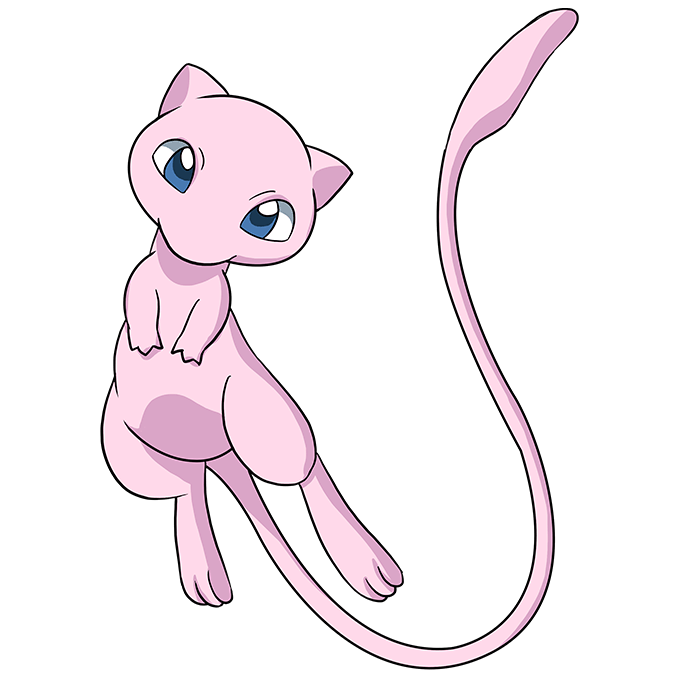 How to Draw Mew: Step 10