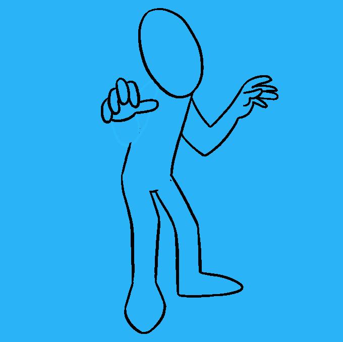 How to Draw Mummy: Step 6