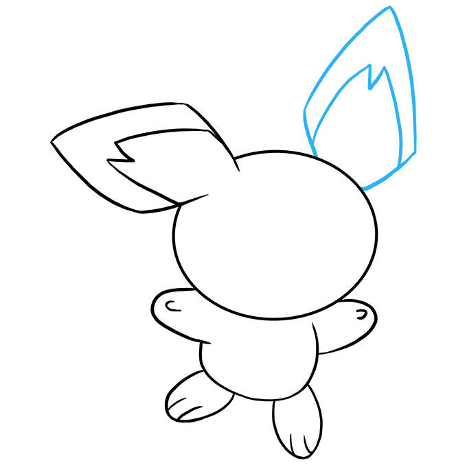 How to Draw Pichu: Step 7