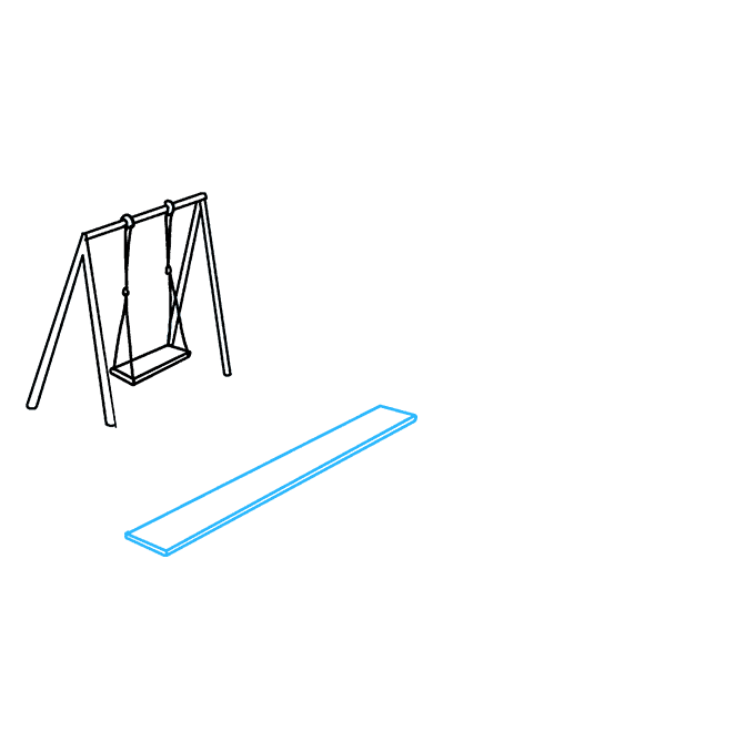 How to Draw Playground: Step 3