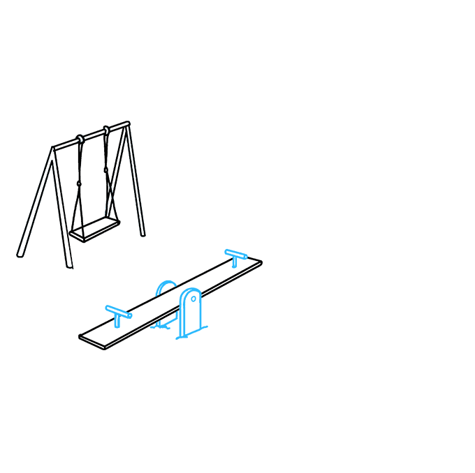 How to Draw Playground: Step 4