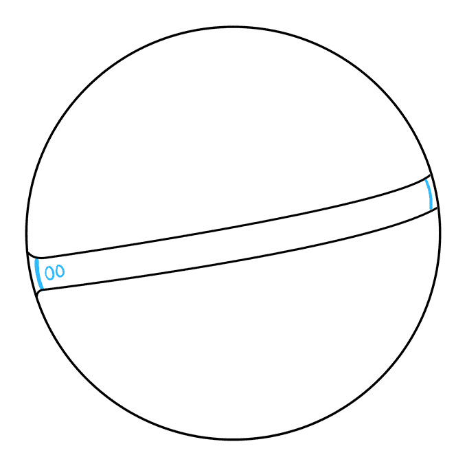 How to Draw a Pokeball Step 04