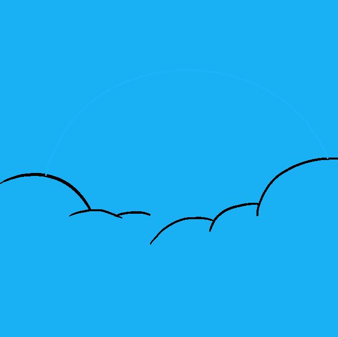 How to Draw Rainbow Step 03