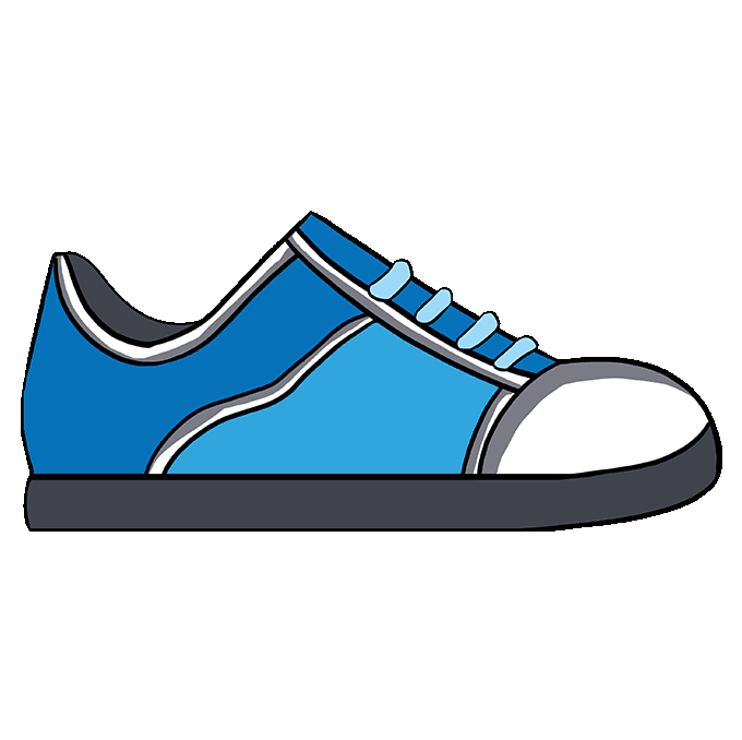 How to Draw Shoe: Step 10