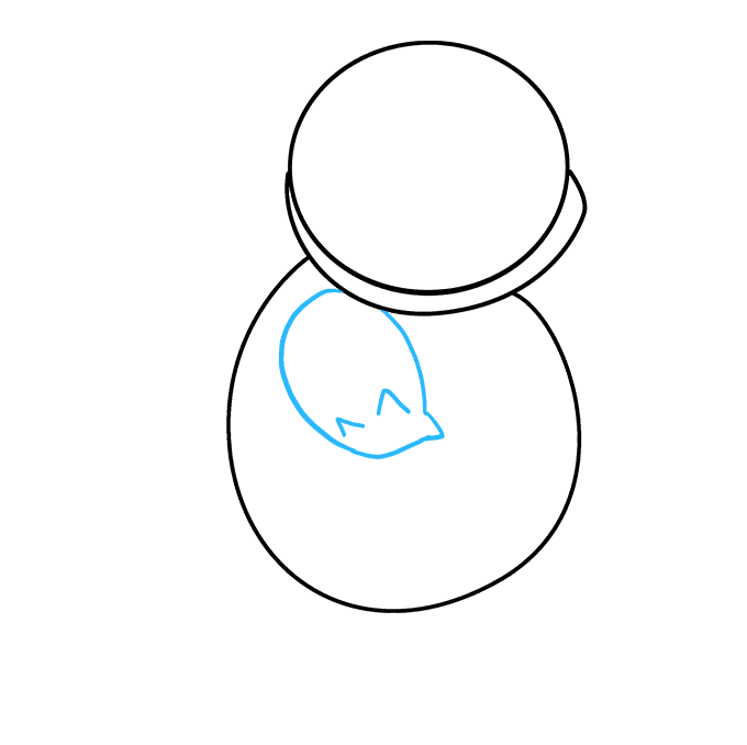 How to Draw Squirtle: Step 3