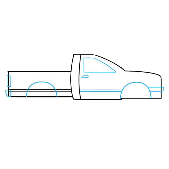 How to Draw Truck: Step 6