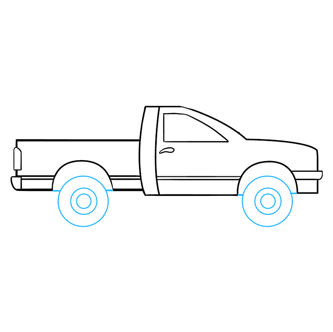 How to Draw Truck: Step 8