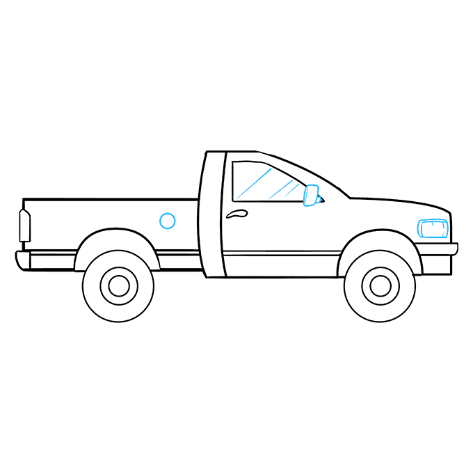 How to Draw Truck: Step 9