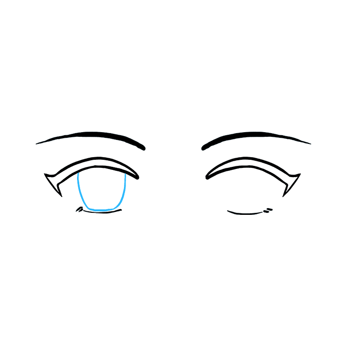 How to Draw Anime Eyes: Step 5