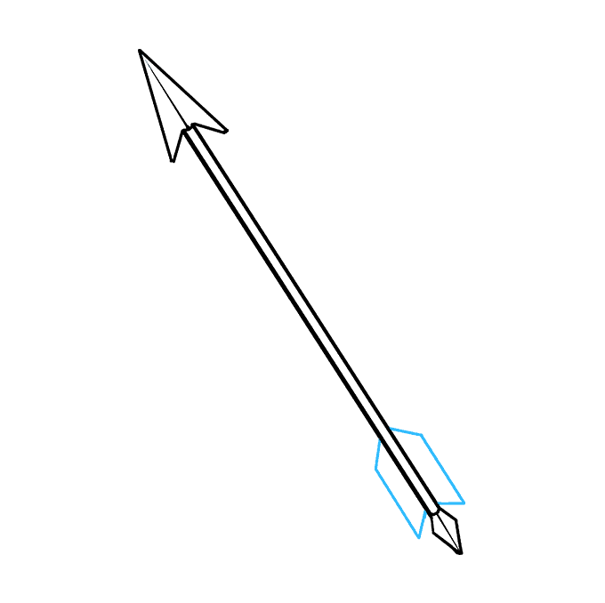 How to Draw Arrow: Step 8