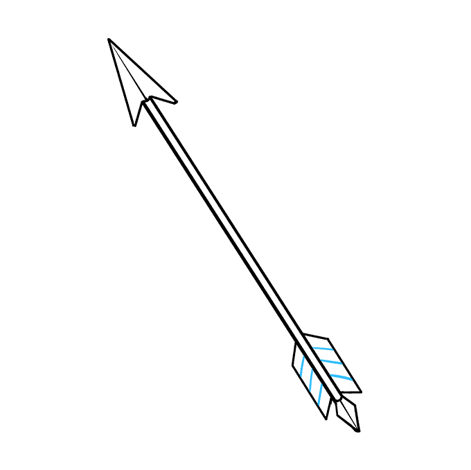 How to Draw Arrow: Step 9