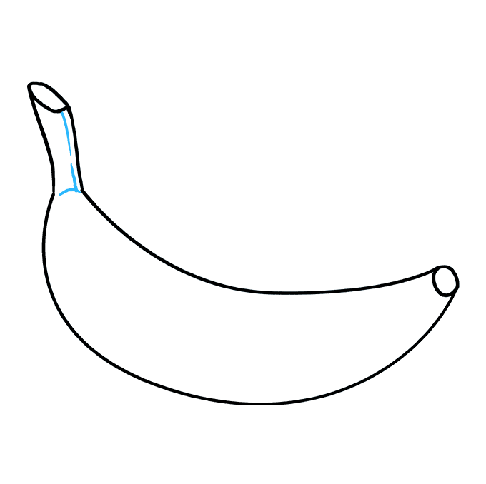 How to Draw Banana: Step 7