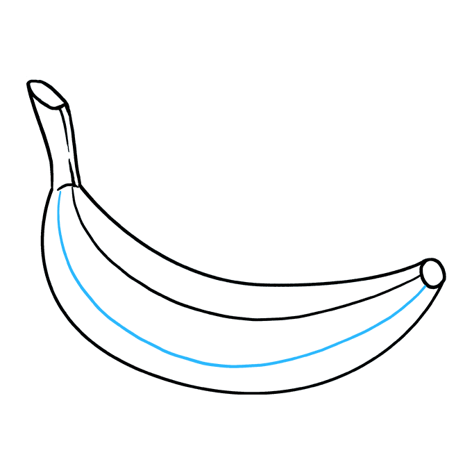 How to Draw Banana: Step 9