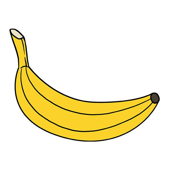 How to Draw Banana: Step 10