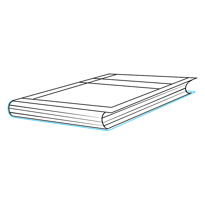 How to Draw Book: Step 9