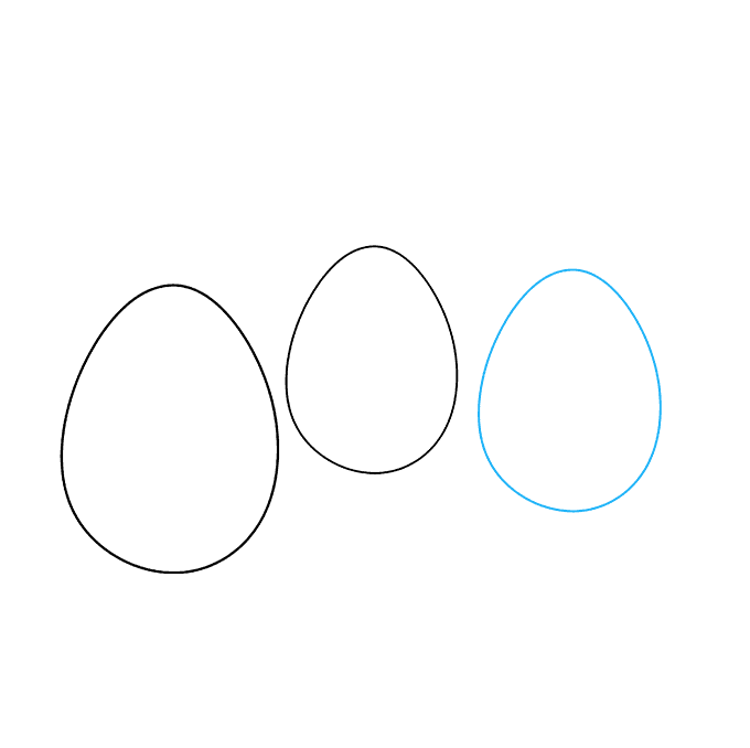How to Draw Easter Eggs: Step 3