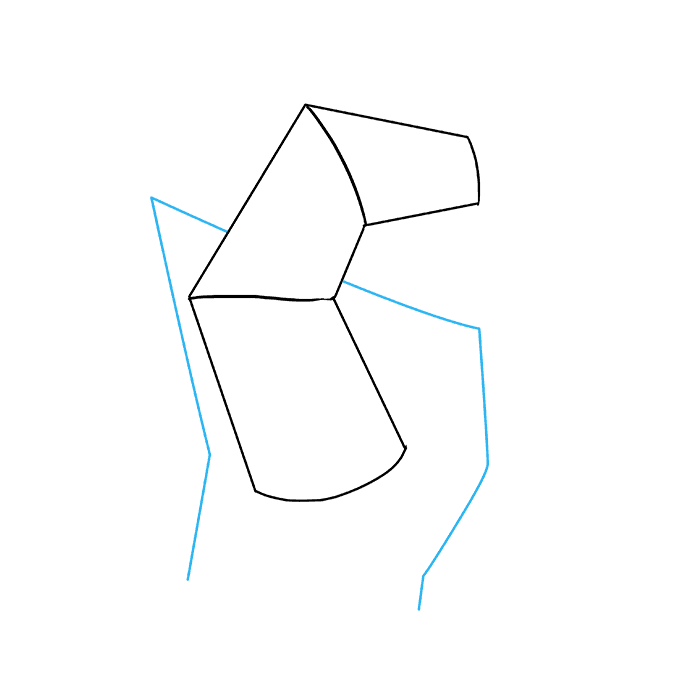 How to Draw a Fist Step 02
