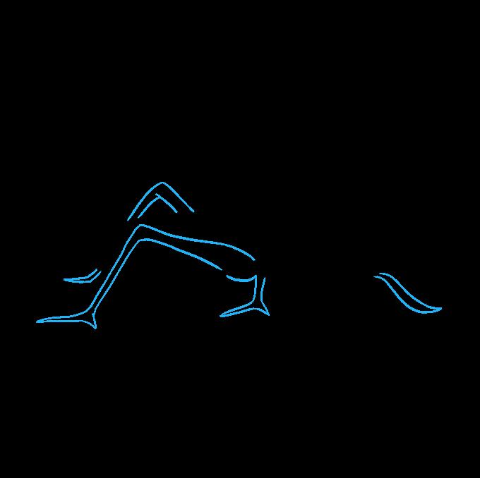 How to Draw a Grasshopper Step 08