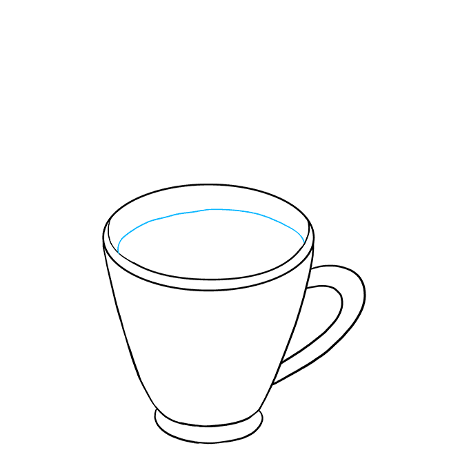 How to Draw Hot Chocolate Step 05