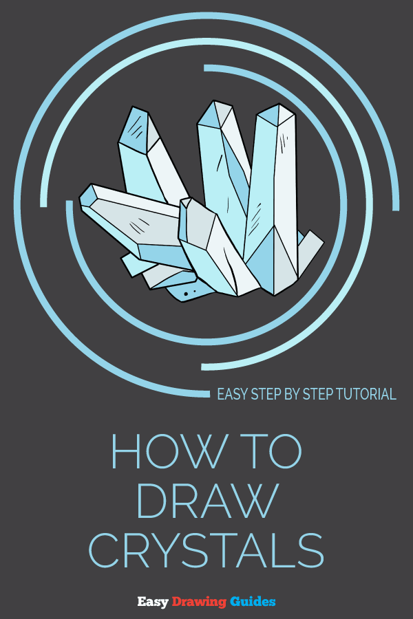 How to Draw Crystals | Share to Pinterest