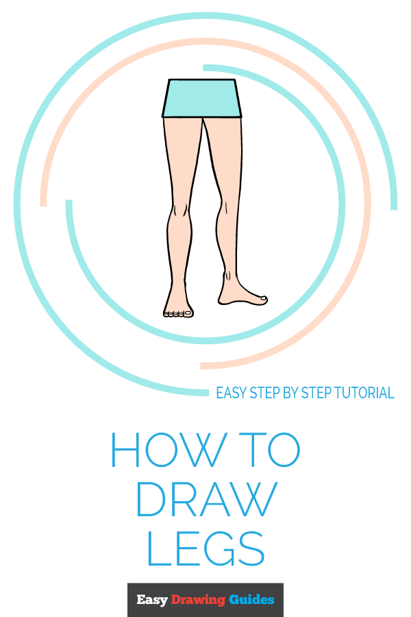 How to Draw Legs | Share to Pinterest