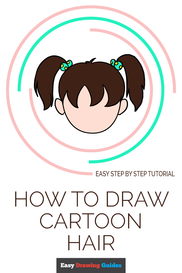 How to Draw Cartoon Hair | Share to Pinterest
