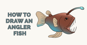 How to Draw an Angler Fish Featured Image