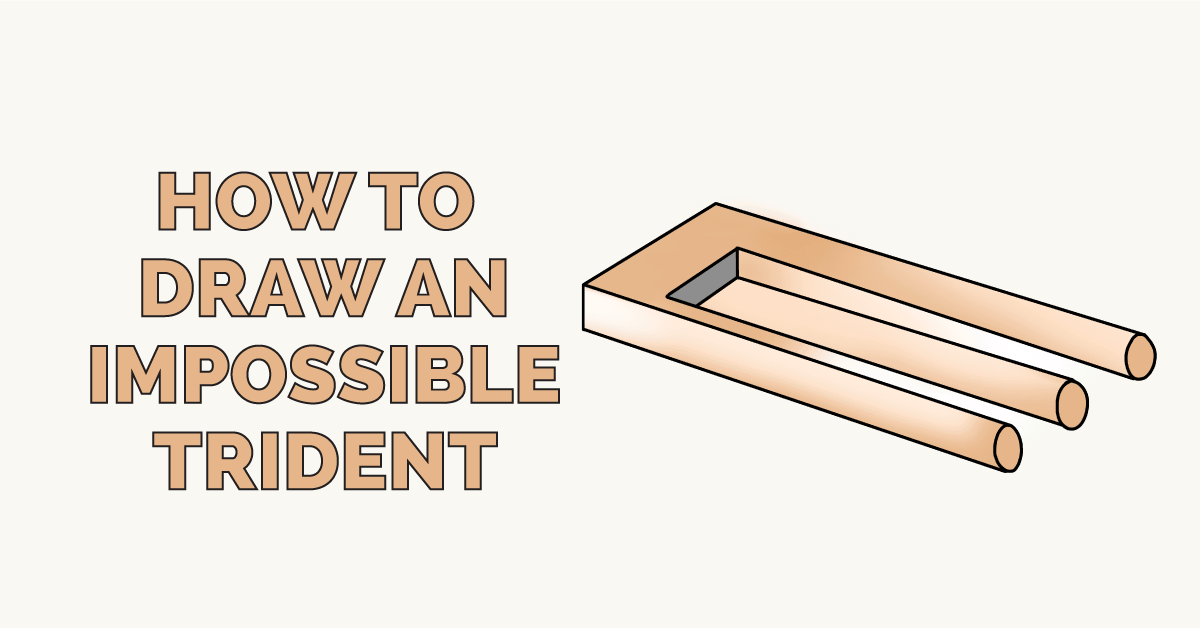 How to Draw an Impossible Trident Featured Image
