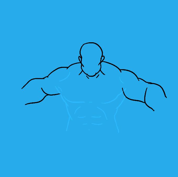 How to Draw Hulk: Step 6