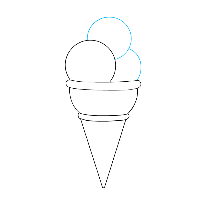 How to Draw Ice Cream: Step 6