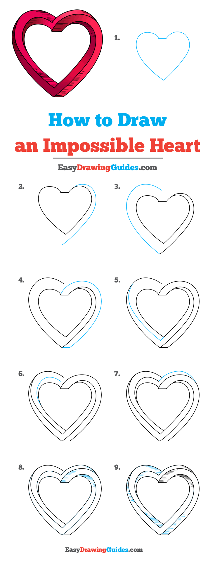 How to Draw Impossible Heart