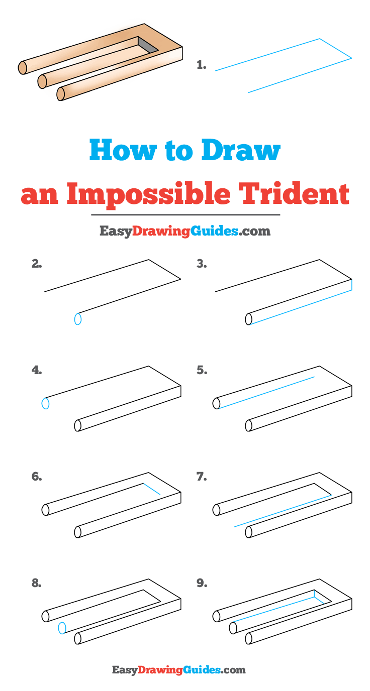How to Draw Impossible Trident