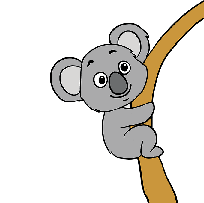How to Draw Koala: Step 10