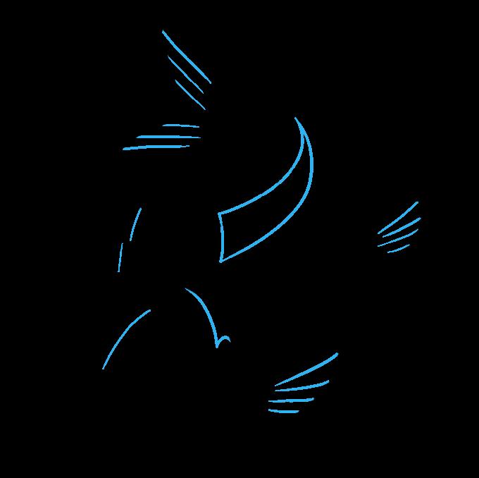 How to Draw Koi Fish Step 07