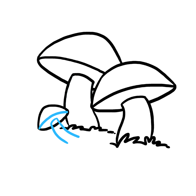 How to Draw Mushroom: Step 8