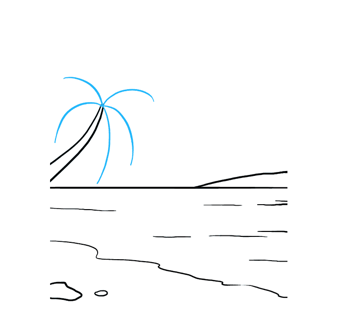 How to Draw Ocean: Step 6
