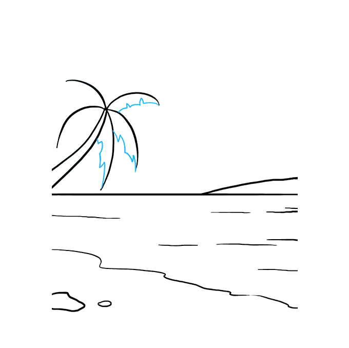 How to Draw Ocean: Step 7