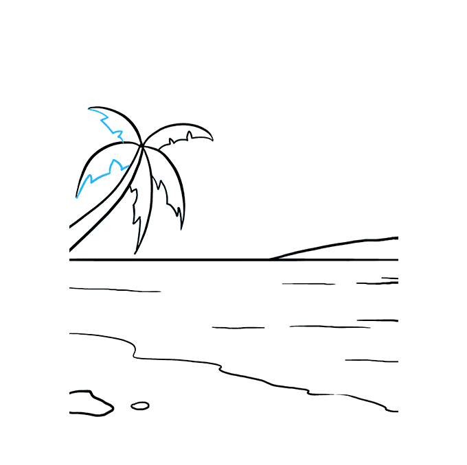 How to Draw Ocean: Step 8