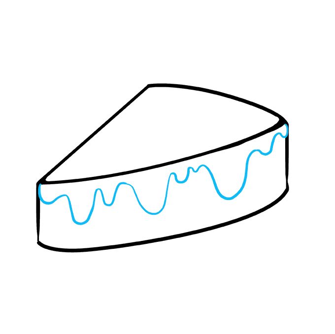 How to Draw Pie: Step 5