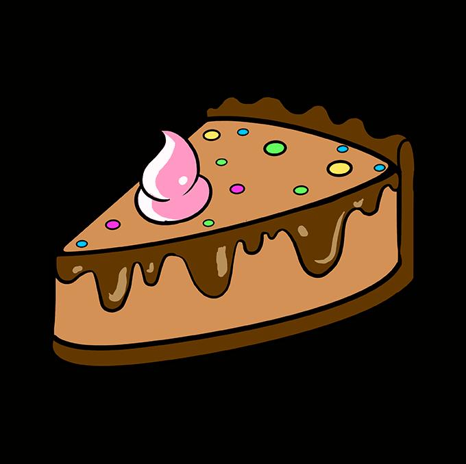 How to Draw Pie: Step 10