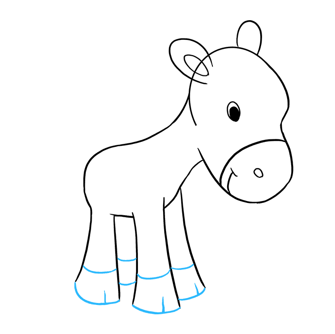 How to Draw Pony: Step 6
