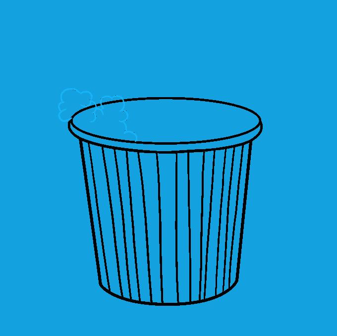 How to Draw Popcorn: Step 5