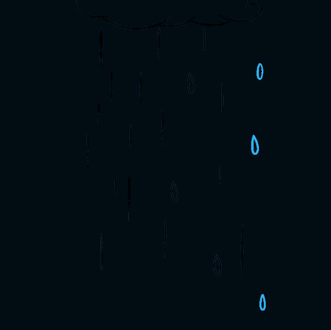 How to Draw Rain: Step 6