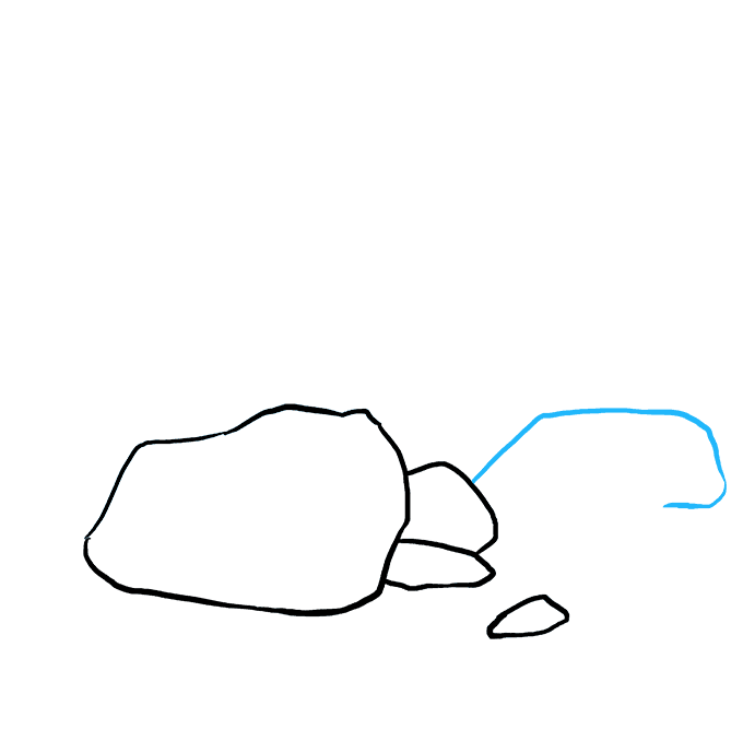 How to Draw Rocks: Step 5