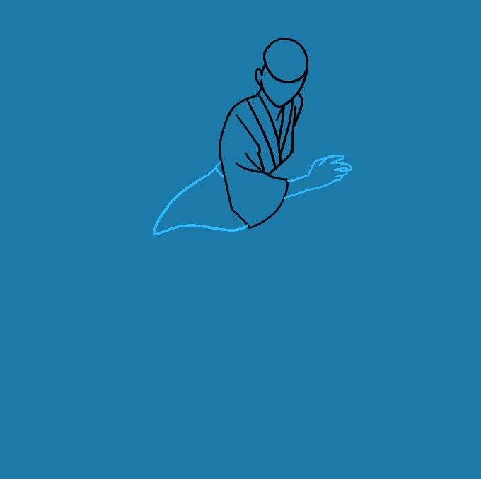 How to Draw Samurai: Step 4