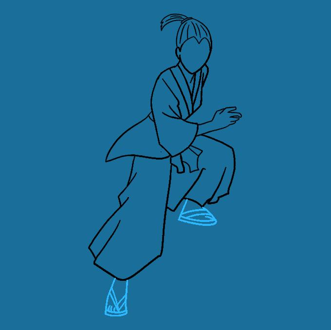How to Draw Samurai: Step 7